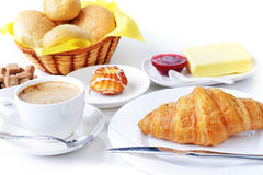 Food for breakfast Royalty Free Stock Photo