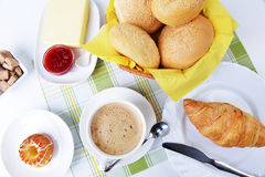 Food for breakfast Stock Photography