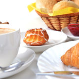 Food for breakfast Stock Images