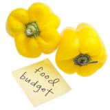 Food Budget Stock Photo