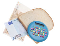 Food Budget Royalty Free Stock Images