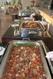 Food at buffet Royalty Free Stock Photo
