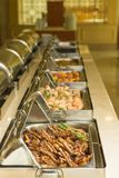 Food buffet in restaurant Royalty Free Stock Image