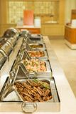 Food buffet in restaurant Royalty Free Stock Images