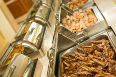 Food buffet in restaurant Stock Photography