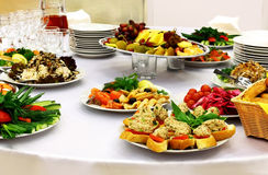 Food for buffet Stock Photo