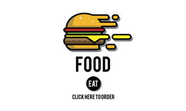 Food Burger Dining Eating Nourishment Concept Stock Photos