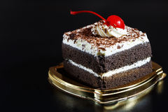 Food cake chocolate ready for serving and look luxury for celebr Royalty Free Stock Photo
