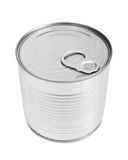 Food can. Isolated on white background Royalty Free Stock Image