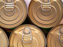 Food cans royalty free stock image