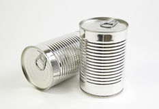 Food cans Stock Image