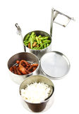 Food Carrier. Is used for contain food,instead of plastic and foam Royalty Free Stock Image