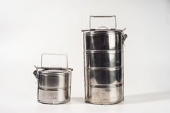 Food carrier white background Stock Photography