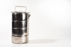Food carrier white background Royalty Free Stock Images