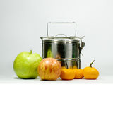Food carriers. This is food carriers use for rice or other Royalty Free Stock Photo