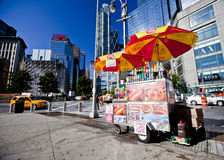 Food cart Stock Photo