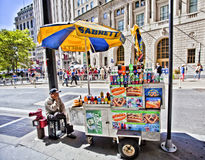 Food cart Stock Images