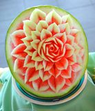 Food carving Royalty Free Stock Photography