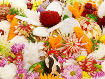 Food carving Stock Images