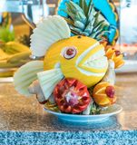 Food carvings Stock Photos