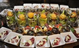 Food catering Stock Photo