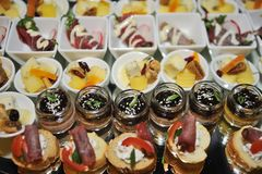 Food catering Royalty Free Stock Photos