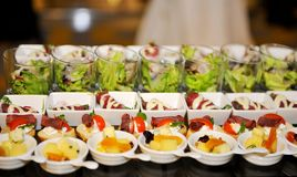 Food catering Stock Images