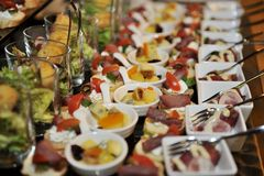 Food catering Royalty Free Stock Photography