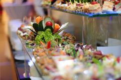Food catering Stock Photography