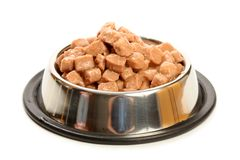 Food for cats and dogs Royalty Free Stock Images