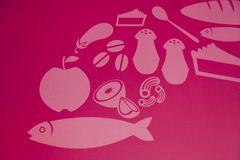 Food chain Royalty Free Stock Images