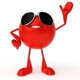 Food character - tomato Royalty Free Stock Photos
