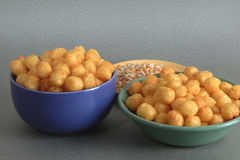 Food, Cheese Balls Royalty Free Stock Photos