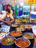 Food in Chiang Mai / Thailand Stock Images