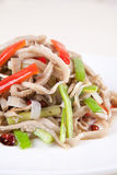 Food in china--chili fried pig stomach Stock Photography