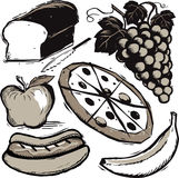 Food Clip Art Royalty Free Stock Photos