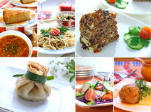 Food collage Royalty Free Stock Image