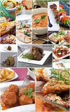 Food collage Stock Photo