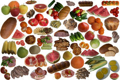 Food collection. Royalty Free Stock Photo