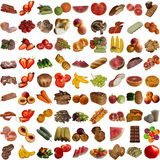 Food collection. Stock Photography