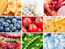 Food collection. Royalty Free Stock Photos
