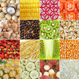 Food collection Royalty Free Stock Photos