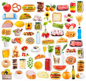 Food collection stock photo