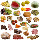 Food collection. Royalty Free Stock Image