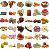 Food collection. Stock Photo
