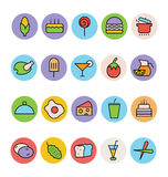 Food Colored Vector Icons 1 vector illustration