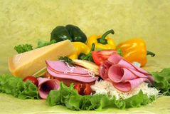 Food composition. Royalty Free Stock Image