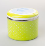 Food Container or Plastic food storage containers. Royalty Free Stock Image