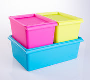 Food Container or Plastic food storage containers. Food Container or Plastic food storage containers Stock Photo