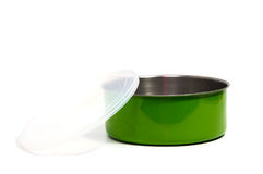 Food Container or Plastic food storage containers. Royalty Free Stock Images